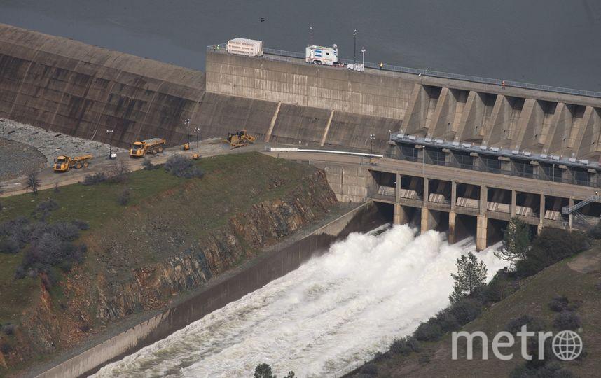 Калифорния, плотина: прорыв возможен. Фото Getty