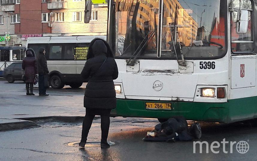 """""""ДТП и ЧП / Санкт-Петербург"""". Фото vk.com"""