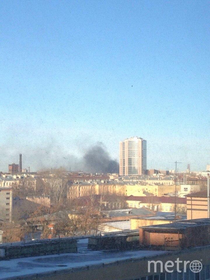 ВМитрофаньевском тупике сгорел склад