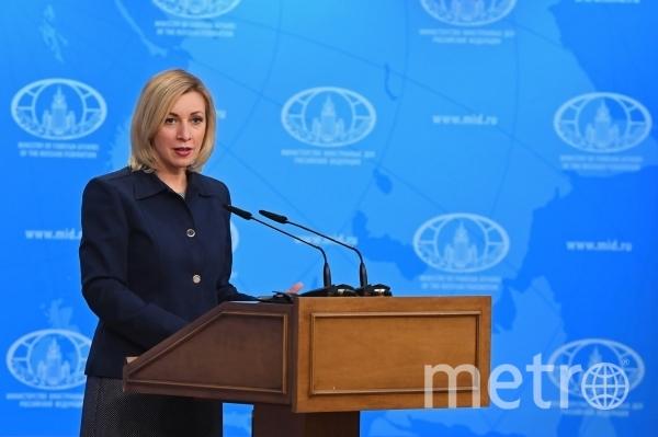 Официальный представитель МИД РФ Мария Захарова. Фото РИА Новости