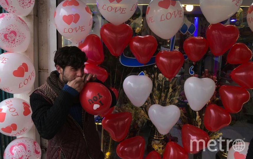 День святого Валентина. Фото AFP