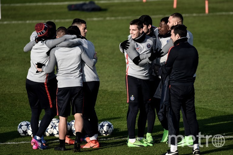 """Перед матчем ПСЖ – """"Барселона"""" 14 февраля 2017 года. Фото AFP"""