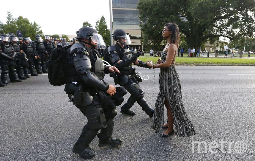 Противостояние в Батон-Руж. Фото Официальный сайт World Press Photo.
