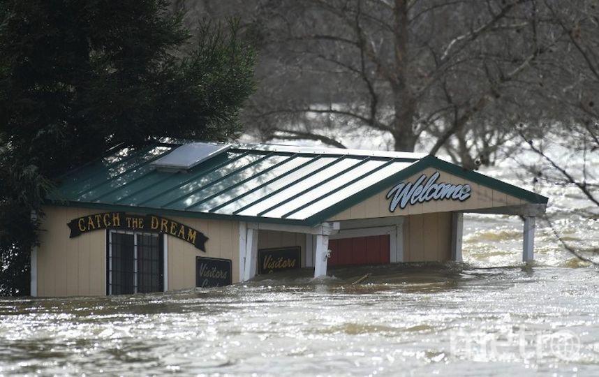 Чрезвычайная ситуация в Калифорнии. Фото AFP