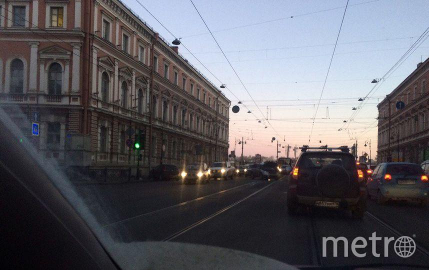 фото с места ДТП на Литейном. Фото vk.com