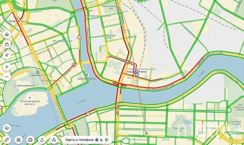 скрин-шот Яндекс.Карты.