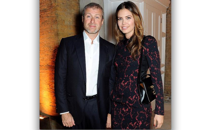 Роман Абрамович и Даша Жукова. Фото instagram/newstarrussia
