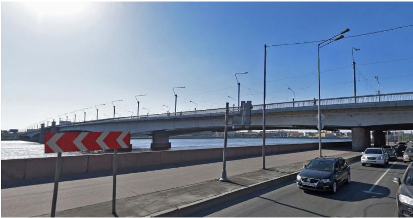 Мост Александра Невского разведут ночью 16 и17февраля