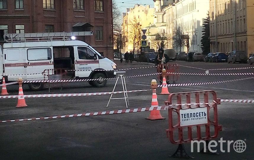 """Предоставлено """"Теплосетью Санкт-Петербурга""""."""