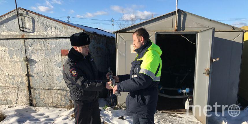 Петербуржец отыскал всвоем гараже автомат времен ВОВ