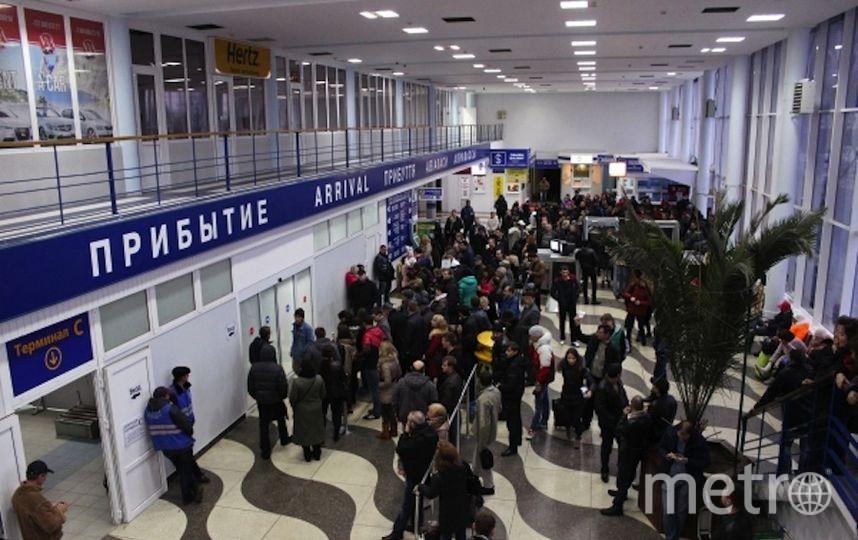 Аэропорт. Фото РИА Новости