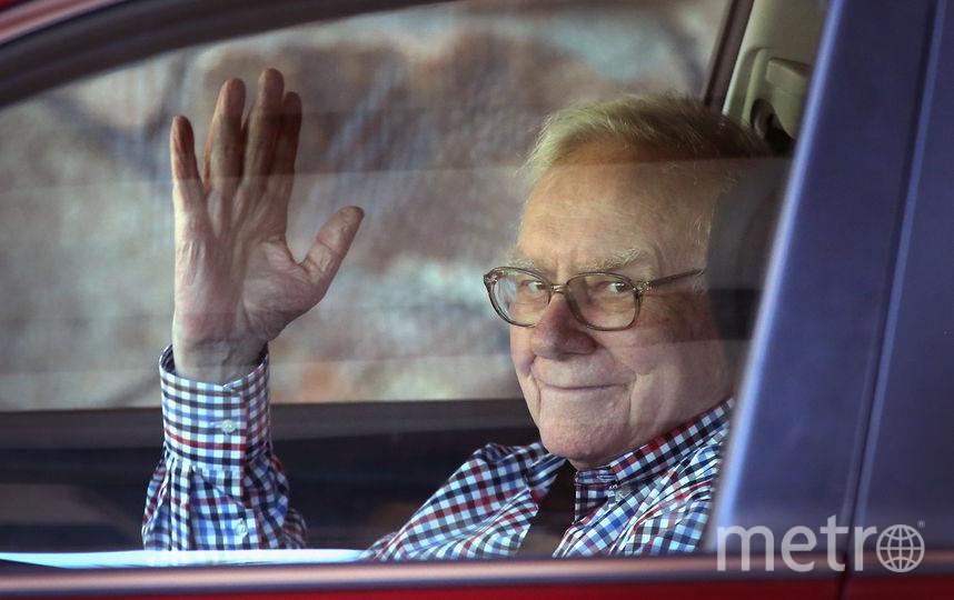 Американский миллиардера Уоррен Баффет. Фото Getty