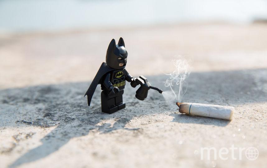 Лего-Бэтмен. Фото Рик Це, фотограф из Гонконга.