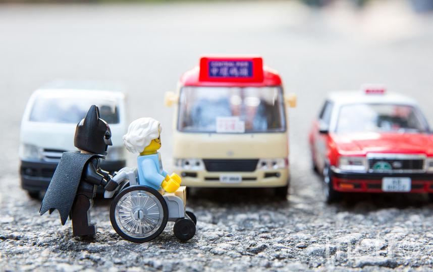 Лего-Бэтмен. Фото Рик Це, фотограф из Гонконга