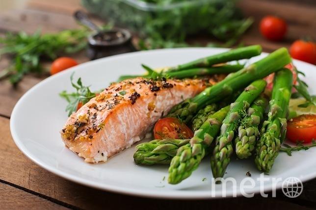 Бэкхэм рекомендует есть лосось ежедневно. Фото IStock
