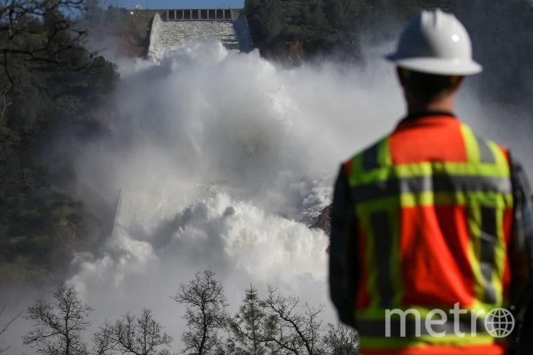 Плотина в Оровилле. Фото AFP