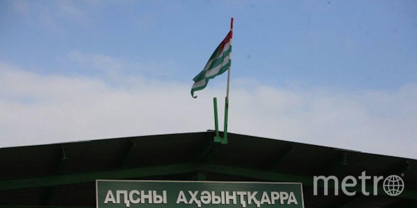 Автобус стуристами из Российской Федерации закидали камнями вАбхазии