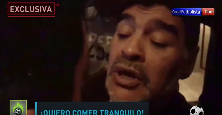 Очередной скандал: легендарный Марадона напал надевушку вмадридском отеле