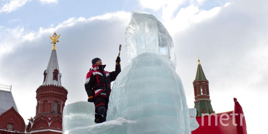 Ледяную фигуру Масленицы сожгут вцентре столицы