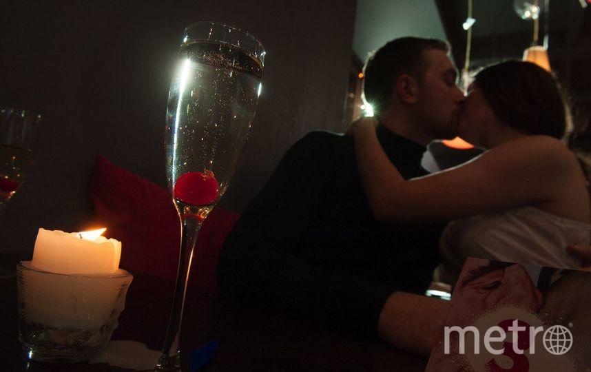 """В Петербурге установили мировой рекорд на самый долгий поцелуй в ресторане. Фото Святослав Акимов, """"Metro"""""""