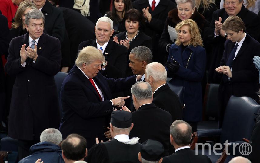 Дональд Трамп и Барак Обама. Фото Getty