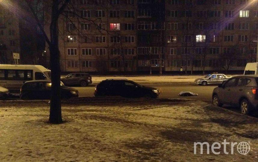 Под машину попала пожилая женщина. Фото vk.com