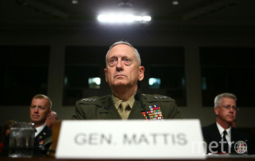 Министр обороны США Джеймс Мэттис. Фото Getty
