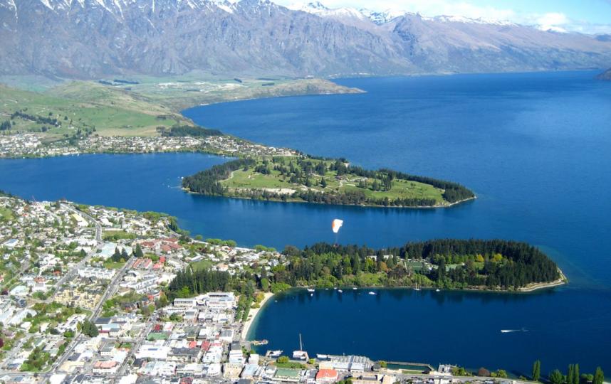Новая Зеландия. Фото Google Maps.
