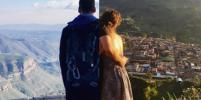 Влюблённая пара делится с пользователями соцсетей своими раздельными путешествиями