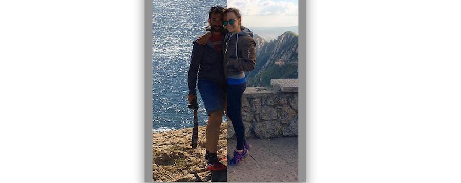 Фотогарфии Бекки и Дэн. Фото Instagram: @halfhalftravel