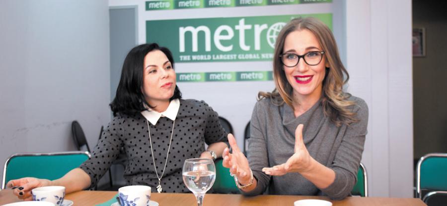 """Юлия Бастригина  и Юлия Ковальчук рассказали о правильном питании. Фото Василий Кузьмичёнок, """"Metro"""""""