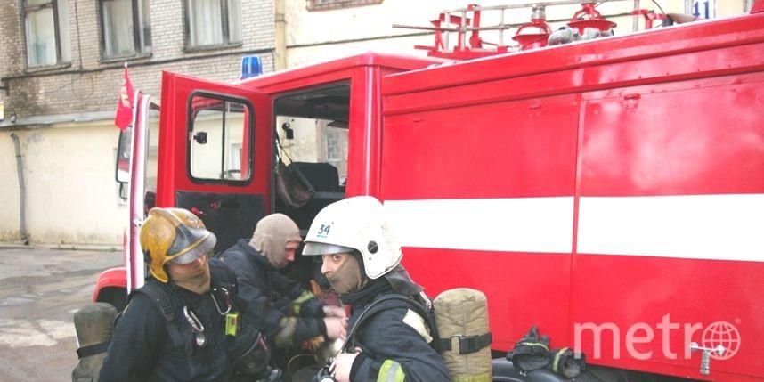ВПетербурге судебный пристав эвакуировал горящий судебный участок