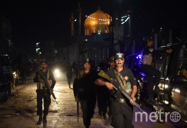 В результате теракта погибли 74 человека. Фото AFP