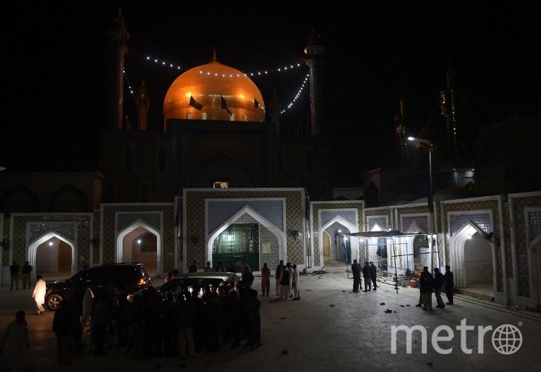 Мавзолей Лалы Шахбаза Каландара в городе Сехван-Шариф. Фото AFP