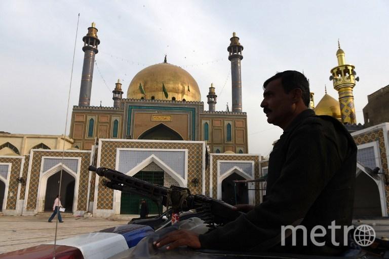 """Ответственность за теракт взяла на себя запрещённая в РФ группировка """"Исламское государство"""". Фото AFP"""
