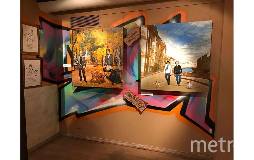 На выставке будет представлено три картины автора из Петербурга.