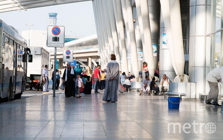 Аэропорт Египта. Фото Getty
