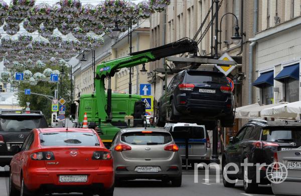 Парковка в Москве. Фото Getty