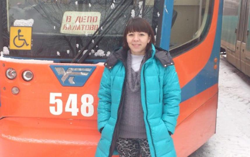 Водитель трамвая Екатерина. Фото предоставила Екатерина Панкратова
