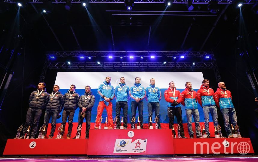 Виновных в ошибке с гимном России на ЧМ по биатлону оштрафуют. Фото Getty