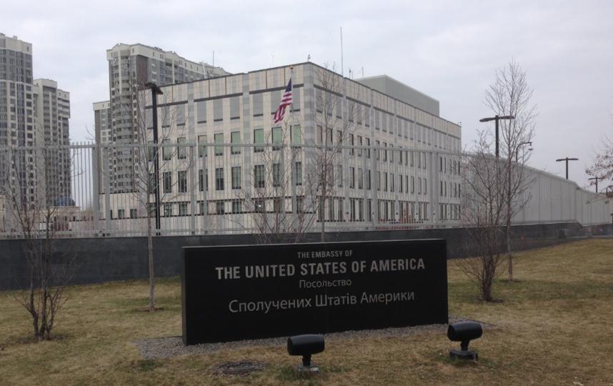 Посольство США в Киеве. Фото Скриншот с Google Maps.