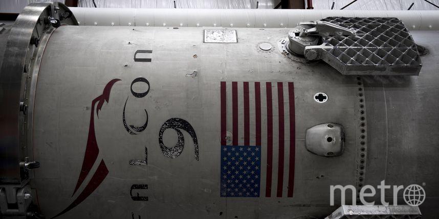 Запуск Falcon 9 отменили занесколько секунд достарта