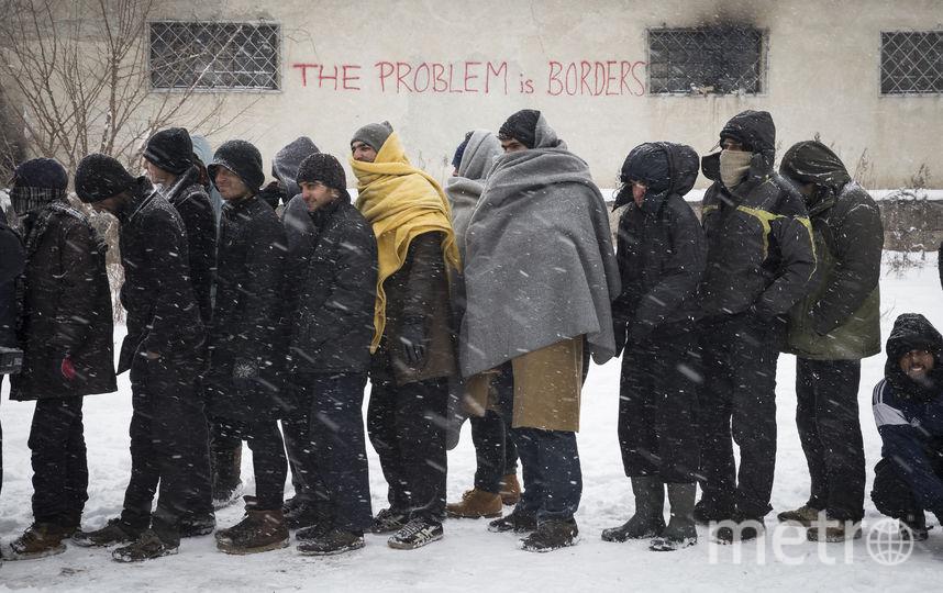 Беженцы в Германии. Фото Getty