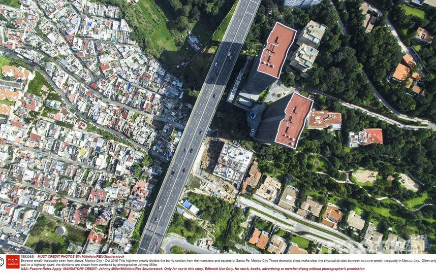 Мехико с воздуха. Фото Millefoto / Rex / Shutterstock.