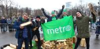 Команда Metro-Москва триумфально выступила на чемпионате по колке дров
