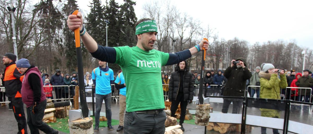 Член дружной команды Metro-Москва Василий Кузьмичёнок. Фото Виктория Мельникова.