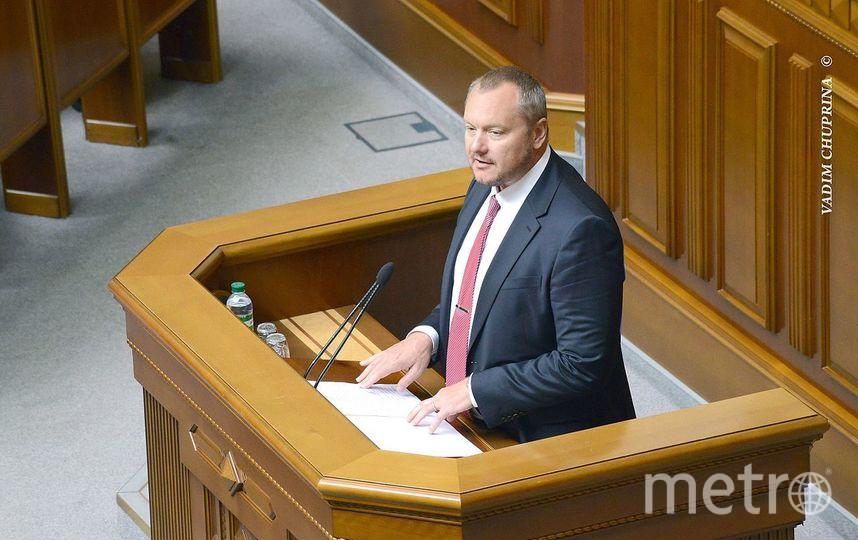 Украинский депутат Андрей Артёменко. Фото Wikipedia/ВАДИМ ЧУПРИНА