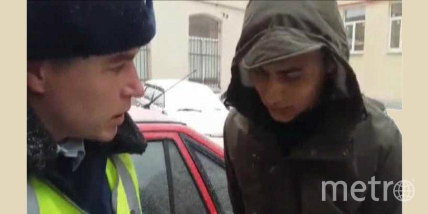 ВПетербурге ДПС спогоней задержали угонщика, нарушившего ПДД накраденой машине