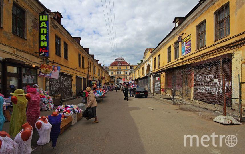 Апраксин двор перенесут из центра города к середине 2018 года. Фото A.Savin/wikipedia.org