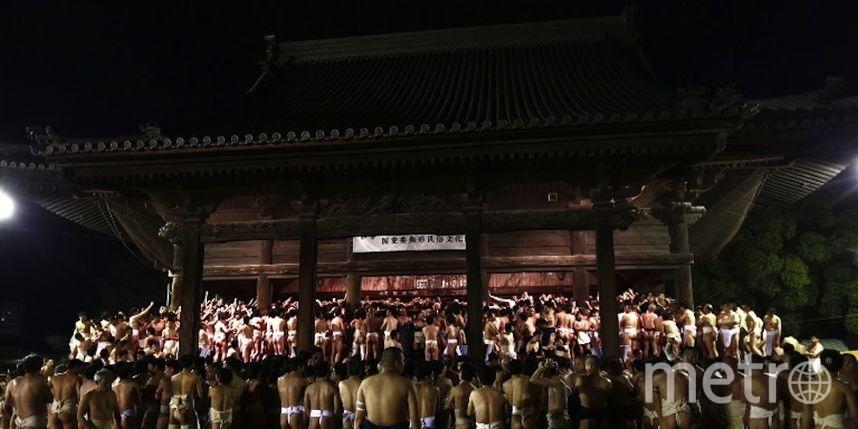 Фестиваль голых мужчин прошёл вЯпонии